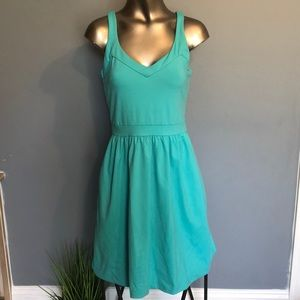Cynthia Rowley Aqua Fit and Flare Dress